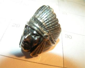 Indianhead ring size 9