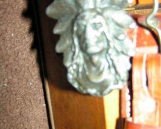 Indianhead beltbuckle