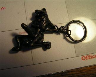 horney frog keychain