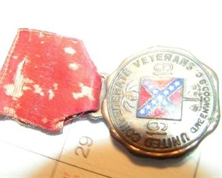 Confederate medal
