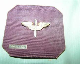 silver  flying medal