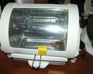 BABY GEORGE GRILL new never used
