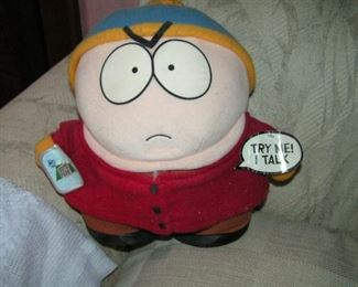 Cartman talks