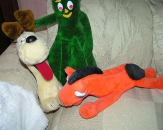 Gumby and friends  pokey and nopey