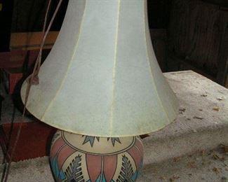 southwest  style lamp
