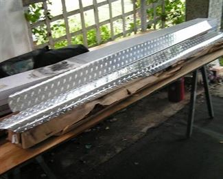 diamond plate aluminum covers for 8 foot bed side rails