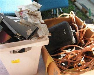 slatwall brackets and KLH speakers