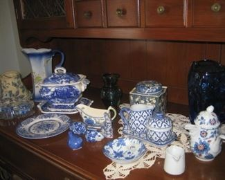 Beautiful Blue vintage and new