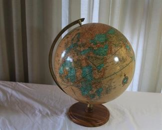 vintage George F. Cram Globe - asking $75