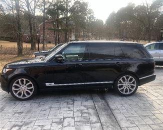 2017 Range Rover, 4100 Miles
