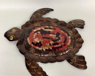 Home Decor Metal Turtle
