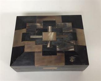 Dark Horn Inlay Box