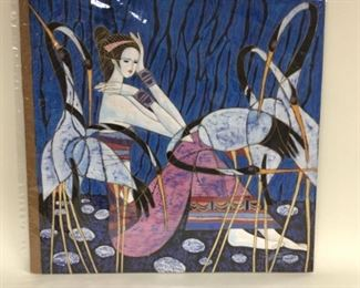 """""""Diva"""" by American-Chinese artist Ting Shao Kuang,  26""""x27 1/4"""""""