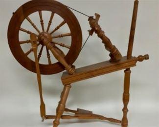 """35"""" Tall Spinning Wheel"""