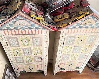 cottage style storage cabinets