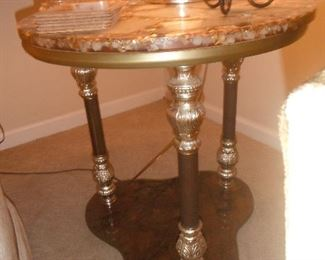 Set of Onyx top tables