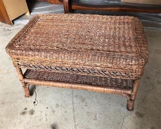 """Coffee table measures 29"""" x 18"""" x 17""""H"""