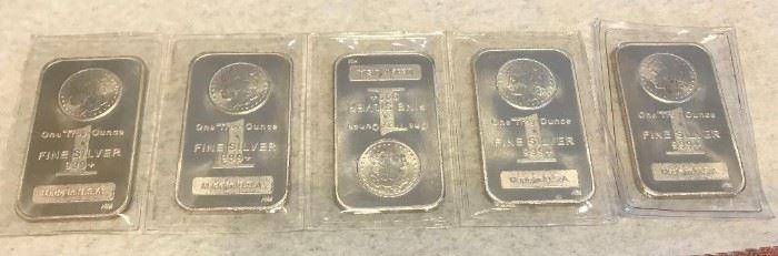 More Silver Bars