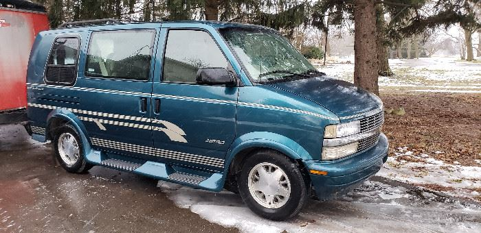 1996 Astro Conversation Van.  (Available To Be Purchased Prior To Sale Weekend)