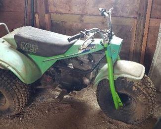 Kawasaki XLT 3 Wheeler