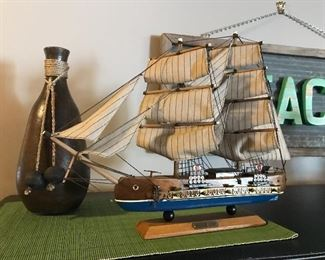 Beautiful detailed ship
