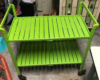 Nice cart, ladder, filing cabinets, painted dresser are just a few of items available.