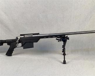 """Serial - S6752408 Mfg - Remington Model - 700 (MDT Chassis) Caliber - 7mm Rem Mag Barrel - 26"""" Capacity - 4+1 Type - Rifle, Bolt Action Located in Chattanooga, TN Condition - 3 - Light Wear This lot is a special firearm! We've got a Remington 700 in a MDT chassis. With the included bipod and fluted barrel this rifle is designed to """"reach out and touch ya!"""" as they say."""