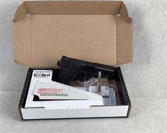 """Serial - RJL4600 Mfg - Smith & Wesson Model - M&P9 Shield EZ Pistol Caliber - 9mm Luger Barrel - 3.675"""" Capacity - 8+1 Magazines - 2 Type - Pistol Located in Chattanooga, TN Condition - 1 - New This is a new in box Smith & Wesson M&P9 Shield EZ, featuring the EZ rack slide, 2 magazines, and a 1911 style grip safety."""