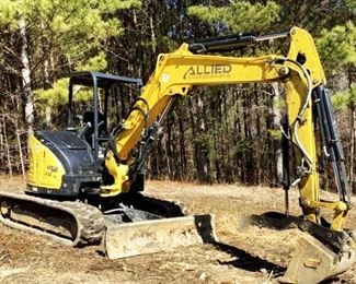 "Located in: Ringgold, Georgia Yr 2020 MFG Yanmar Model 212 Vi055 Mini Excavator PIN - YMRV1055TLAJAH038 Hours - 405 Engine Spec- MFR - yanmar Model - 4RTPAC Diesel Bucket Width - 2'W Grader Blade Width - 78""W 15-3/4"" W Tracks Runs and Operates"