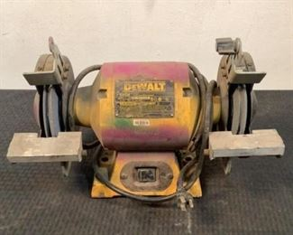 """Located in: Chattanooga, TN MFG DeWalt Model DW756 Power (V-A-W-P) 120 Volts 6"""" Bench Grinder  **Sold as is Where is**  SKU: G-1-C Tested Works"""