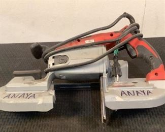 Located in: Chattanooga, TN MFG Milwaukee Power (V-A-W-P) 120 Volts Band Saw *Sold As Is Where Is*  SKU: N-6-B Tested Works