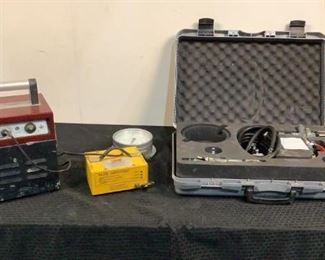 Located in: Chattanooga, TN Pin Brazing and Pressure Tool (1) Pin Brazing Machine with Charger MFR - BAC Model - EasyBond MKII **Unable To Test** (1) Pressure Tool MFR - N/A **Unable To Test** *Sold As Is Where Is*  SKU: K-3-B