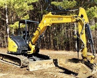 "Located in: Ringgold, Georgia Yr 2020 MFG Yanmar Model 212 Vi055 Mini Excavator PIN - YMRV1055TLAJAH038 Hours - 405 Engine Spec- MFR - yanmar Model - 4RTPAC Diesel Bucket Width - 2'W Grader Blade Width - 78""W 15-3/4"" W Tracks **Sold as is Where is** Runs and Operates"