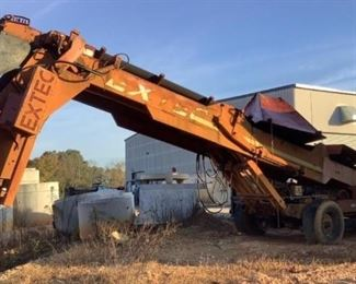 Located in: Ringgold, Georgia MFG Extec Ser# 6396 Top Soil Screener Trailer **Running and Operating 2 Years Ago, been in Secure Storage** **No Legible VIN or Model** Hours - 4032 Engine Spec- Diesel Model - BF4M 1012 75 HP **Sold as is Where is** Per consignor works