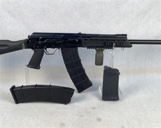 """Serial - H064025 Mfg - Izhmash Model - Saiga 12 Shotgun Caliber - 12 Gauge Barrel - 20"""" Capacity - 10+1 Magazines - 3 Type - Shotgun, Semi Automatic Located in Chattanooga, TN Condition - 3 - Light Wear The Saiga 12 is legendary for it's reliability and functionality as a defensive shotgun. This particular model was imported by RAAC and features a flash hider, picatinny handguard, ODG magpul vfg, 2 10 rounds magazines and a 5 round magazine. This shotgun is the complete package for someone looking for an extremely high quality self defense shotgun. These shotguns have been banned from import for years now and prices are only going up from here!  (LEO SEARCH & SEIZURE)"""