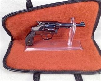Serial - 102941 Mfg - Smith & Wesson Model - Model 1903 5th change Caliber - 32 Long Capacity - 6 Type - Revolver, Double Action Located in Chattanooga, TN Condition - 2 - Like New, In Box This lot contains a very nice Smith & Wesson Model 1903 5th change double action revolver chambered in 32 Long. Cannot confirm that it has been re-blued but it may have been. In any case it is a very nice revolver for being over 100 years old!