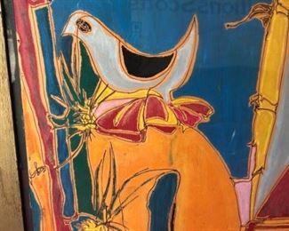 Donna Litscher Bird Abstract