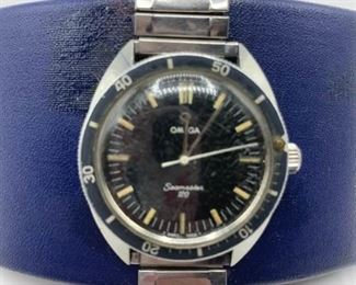 Vintage Omega Seamaster 120 Dive Watch