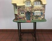 Franklin Mint Rose Cottage Doll House