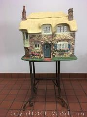 Franklin Mint Rose Cottage Doll House