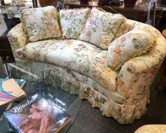 chintz sofa