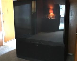 Large Mitsubishi TV
