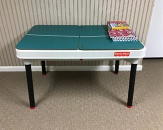 Fisher-Price Game Table w/ all the accessories