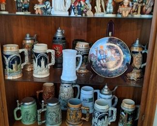 Hummels and Beer Stein collection