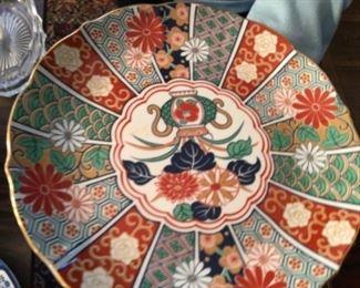 Imari Japanese plate $25