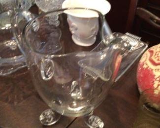 Modern water pitcher $35