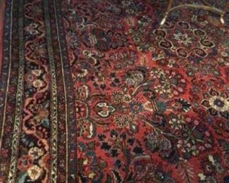 Persian Dargazin wool 11.4 x 8.9. $2500.