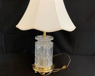 Remington Crystal Lamp