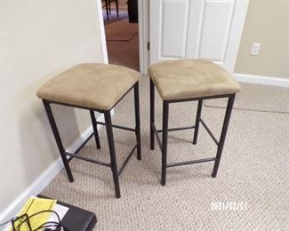 pair bar stools