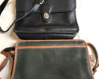 Coach - $50 and the Dooney Bourke - $75